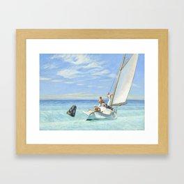 Edward Hopper Ground Swell 1939 Painting Framed Art Print