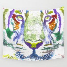 ROAR (tiger color version) Wall Tapestry