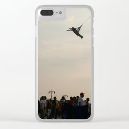 Flying Clear iPhone Case