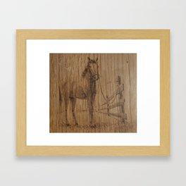 House Farm Framed Art Print