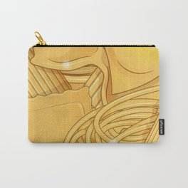 the real italian Pasta food background Carry-All Pouch