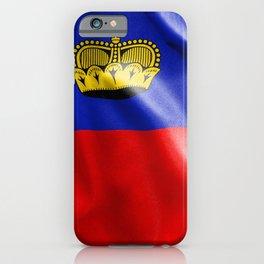 Liechtenstein Flag iPhone Case