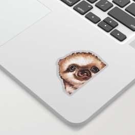 Sneaky Baby Sloth Sticker