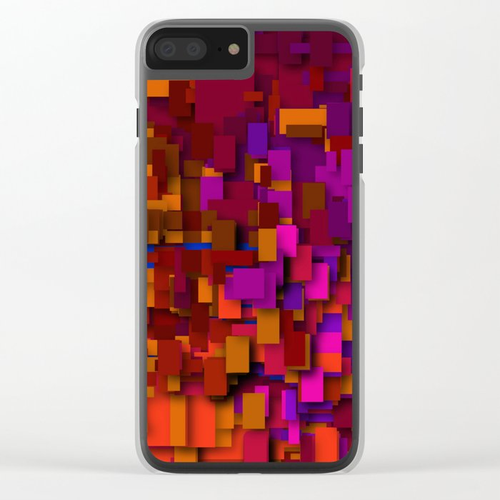 so many layers Clear iPhone Case