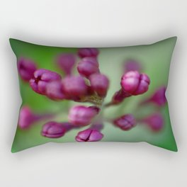 Arboretum Lilac Rectangular Pillow