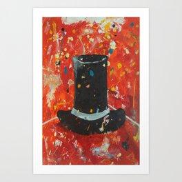 Il cilindro - Top Hat Art Print