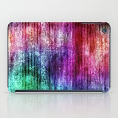 Melting Rainbow Watercolor Abstract iPad Case