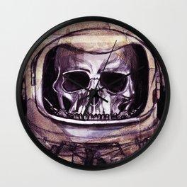 Space Skeleton  Wall Clock