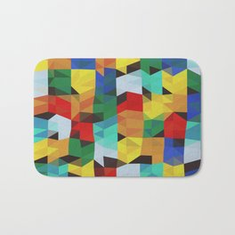 Abstract Composition 648 Bath Mat