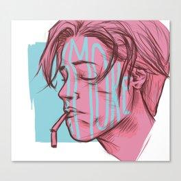 SMOKE Canvas Print