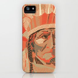 Geronimo iPhone Case