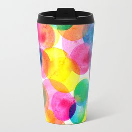 Confetti paint TWO Travel Mug