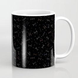 Ditzy Feynman diagrams and Particles on Black Coffee Mug