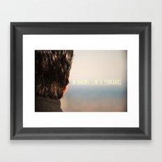 Un horizonte lleno de posibilidades Framed Art Print