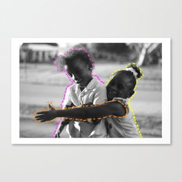 Young & Happy Canvas Print