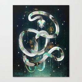 The Rainbow Serpent Canvas Print