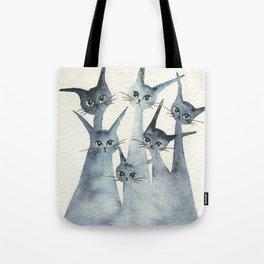 Ashland Whimsical Cats Tote Bag