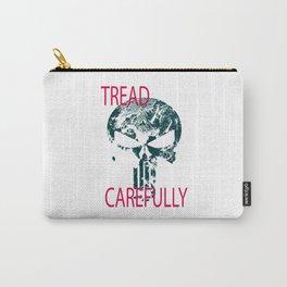 Tread Carefully Skull Carry-All Pouch