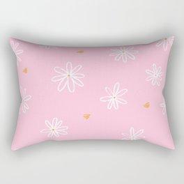 Daisy love Rectangular Pillow