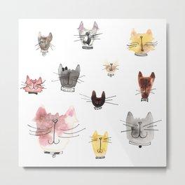 Give me all the Kitties! Metal Print