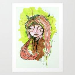 Monotony  Art Print