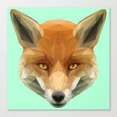 Poly the Fox Canvas Print