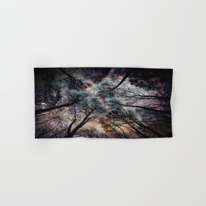 Starry Sky in the Forest Hand & Bath Towel