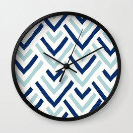 Barbados blue Wall Clock