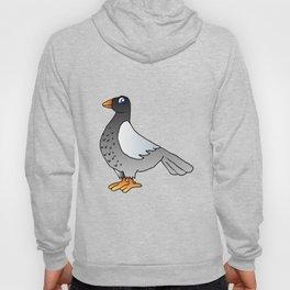 cartoon pigeon. Hoody