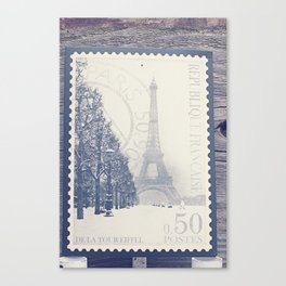 De La Tour Eiffel Canvas Print