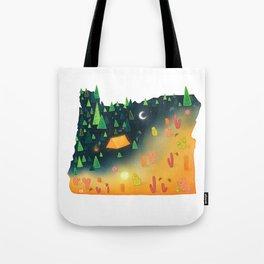 Night / Day in Oregon Tote Bag