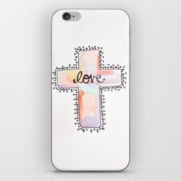 Christ is love iPhone Skin