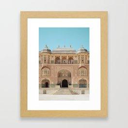 Amber Fort Framed Art Print