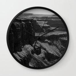 River Canyon Wall Clock
