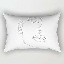 Fine Line Beauty Rectangular Pillow