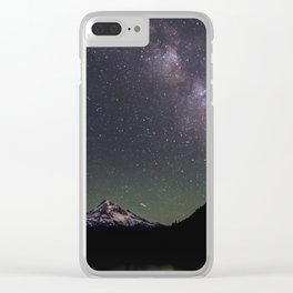 Summer Stars at Lost Lake - Nature Photography Clear iPhone Case
