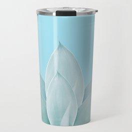 Light Blue Agave #1 #tropical #decor #art #society6 Travel Mug
