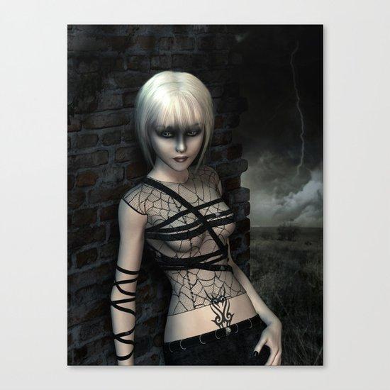 Night wanderer Canvas Print