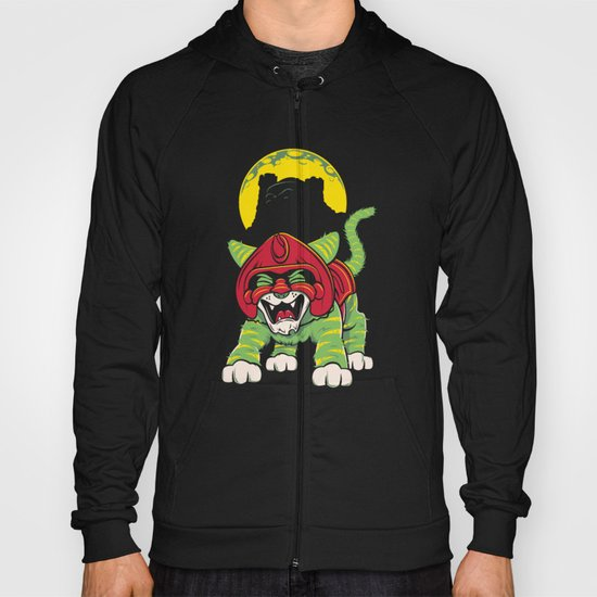 Battle Kitty's Mighty RAWR!  Hoody
