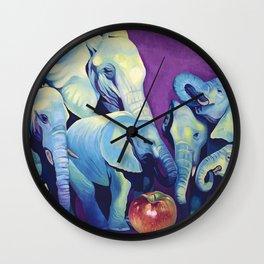 Elephat's Soccer Wall Clock
