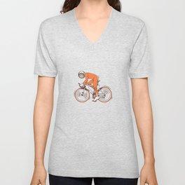 All I wanna do is bicycle Unisex V-Neck