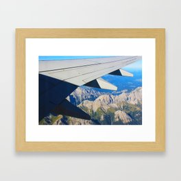 Airplane Wing Framed Art Print