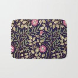 William Morris Briar Floral Art Nouveau Bath Mat
