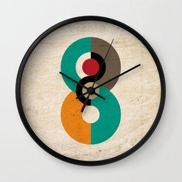 Geometric Scandinavian Art Wall Clock