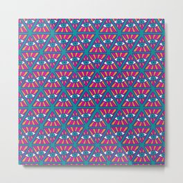 Ethnic psychedelic 2 Metal Print