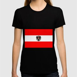 Austrian Flag and Coat of Arms T-shirt