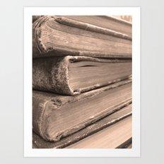 Stacks of Stories  Art Print