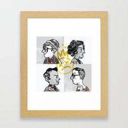 Young Bloods Framed Art Print