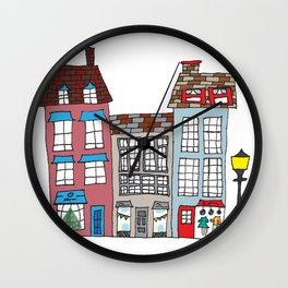 Small Business Shoppes Wall Clock