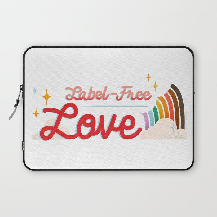 Label Free Love  inspired by The L Word Laptop Sleeve